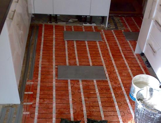 Under Floor Heating Contractrors Hampshire, Surrey, London